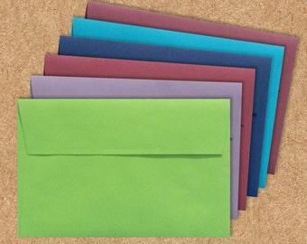 A6 Invitation Envelopes (4 3/4 x 6 1/2) - LUX - Pick A Color - Quantity of 50