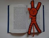 Handmade crochet Bookmarks - Tiger