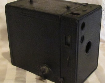 1924 Eastman Kodak No. 2A Brownie Model C Camera Vintage Box Rollfilm