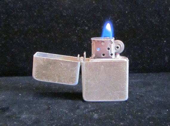 Vintage Storm King Lighter Wind Proof 1940s Made in USA Good Working Condition