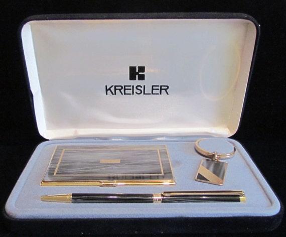 Vintage Kreisler Business Card