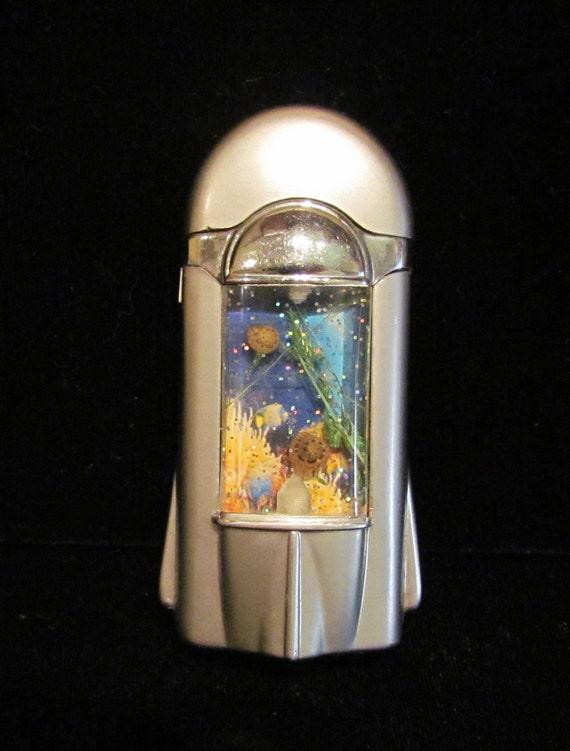 Vintage Novelty Aquarium Lighter Cigarette Lighter Butane