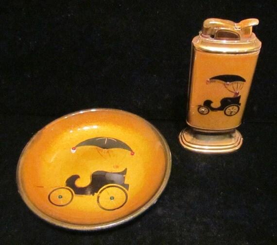 Evans Tischfeuerzeuge vintage