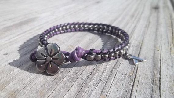 End Domestic Violence Awarness Bracelet