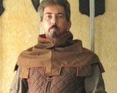 Medieval Celtic Peasant Monk Jester Mantle Reversible