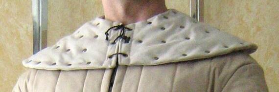 Medieval Armor Padded Collar