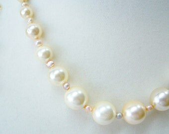 50% OFF! Pastel Pearls for bridal or any occasion