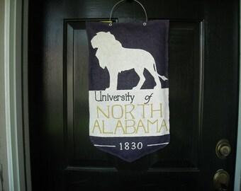 UNA (University of North Alabama) Door Hanger