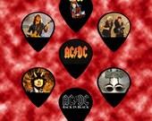AC DC  ACDC Guitar Picks