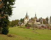 Fine Art Photography Print, Peles Castle Romania Photography 8x10 or 8x12