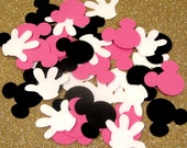 Mickey Mouse Confetti 50 pack - 2 Shapes 3 Colors