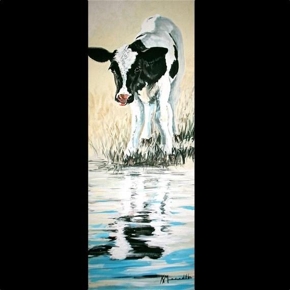 Dexter a print of an original painting