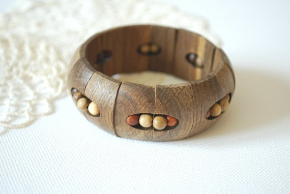 Oak wood  bracelet-Eco friendly,rustic-Country style-Nature,forest,woodland,brown