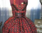 Punk Rock Lolita Jumperskirt Halter dress