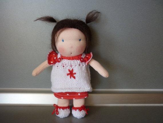 8 inch Waldorf doll