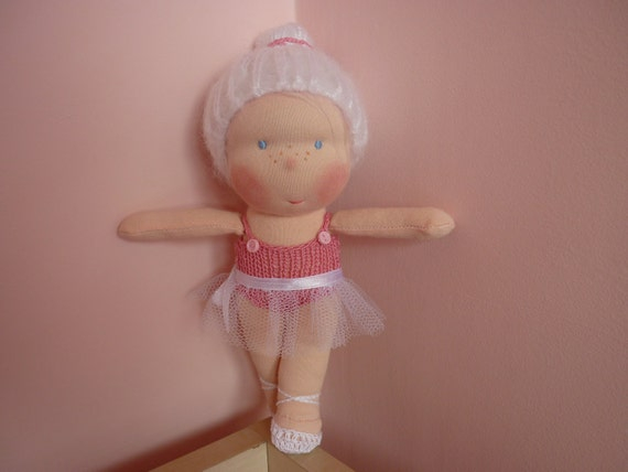 8 inch Waldorf doll-Ballerina