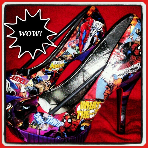 Amazing Spider Man Heels