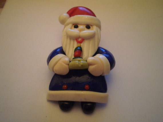 Vintage Handmade Santa Pin/Brooch