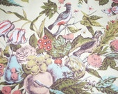 Pretty Bird Vintage Fabric Samples Lot of 9 Waverly Bonded Fabrics F. Schumacher & Co. Scotchgard Plymoth Document