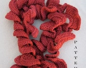 Crochet Pattern Spiffy Spiral Scarf Digital Download