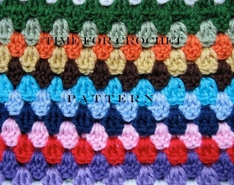 Crochet Pattern Toddler Child Blanket Afghan Stroller Cover -  Digital Download