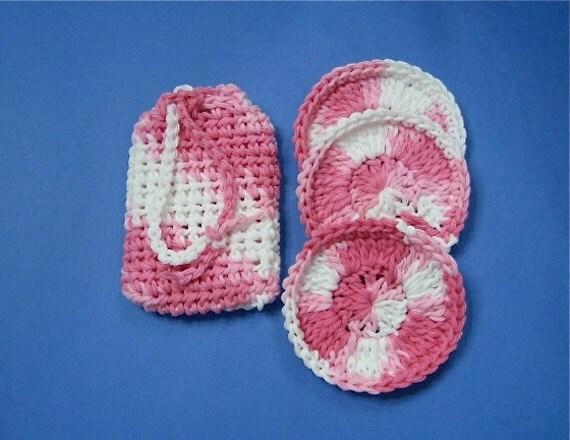 Crochet Pattern Soap Saver and Facial Scrubbies - Digital Download