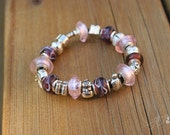 Purple European charm Bracelets - Hand crafted loved by ALL fashionistas