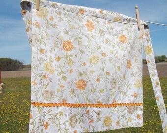 Vintage Upcycled Pillowcase Apron