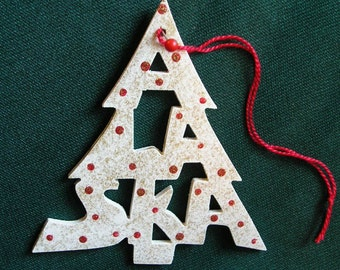 Alaska ornament, tree shaped