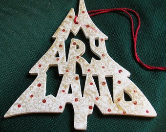 Maryland ornament, tree shaped
