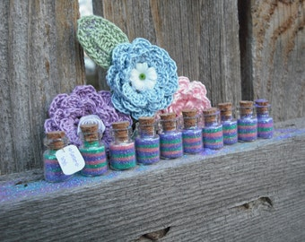 Easter Wish Jars, Fairy Party, pink, purple, green, Easter