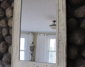 Reclaimed Wood Beach Mirror