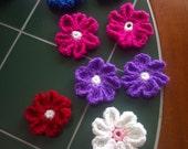 Colorful Flower Embellishments