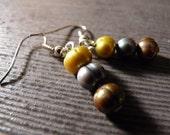 Three Pearls In Love Earrings