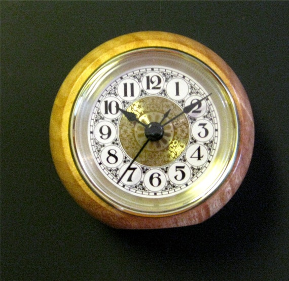 Desk Clock Made From Hard Maple