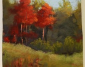 Fall Color Festival Pastel Landscape