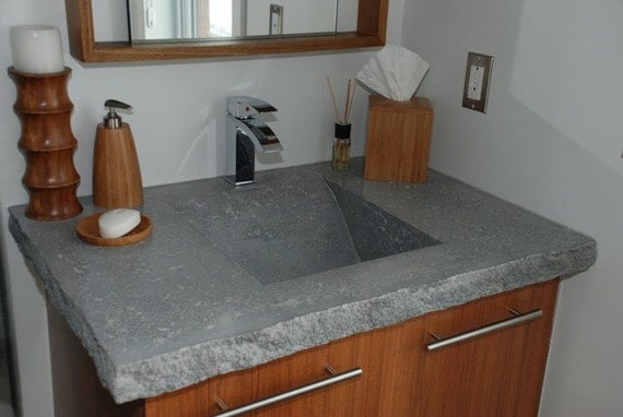 Items Similar To Custom Modern Zen Concrete Bathroom Sink