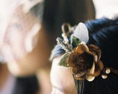 Flower Fairymaid Wreath - Hair Piece for the bridesmaid /  bride  / flower girls - Natural Materials, Handmade to order