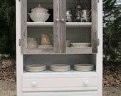 Antique White Cupboard