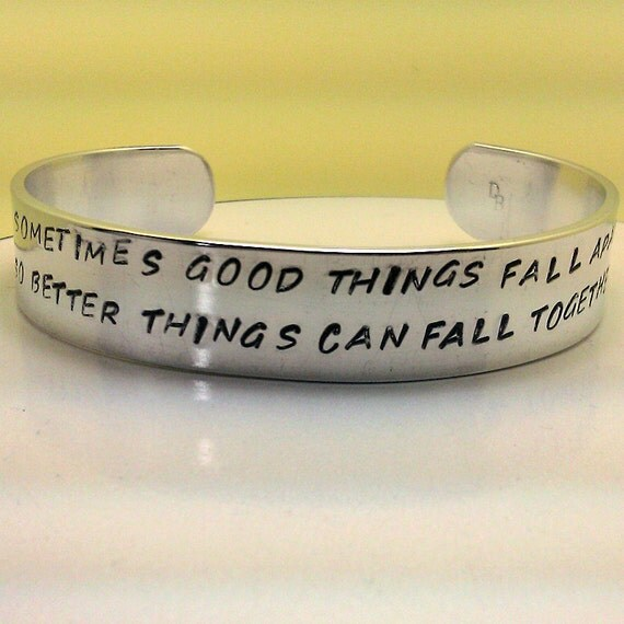 Things Fall Apart Symbolism Quotes: Sometimes Good Things Fall Apart So Better Things By