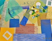 Papers for Mixed Media  Art Journals Collage