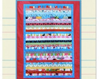 B's Big Girl PDF Quilt Pattern (Twin and Baby Quilt Sizes)