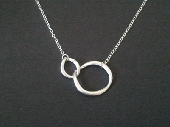 Infinity love circle pendant Necklace, charm, pendant, statement necklace, wedding Gift, Holiday, Christmas Gifts