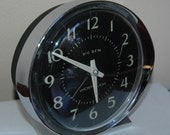 WESTCLOX Big Ben Alarm Clock Old Bell Ring WESTCLOCK Retro Vintage 0405