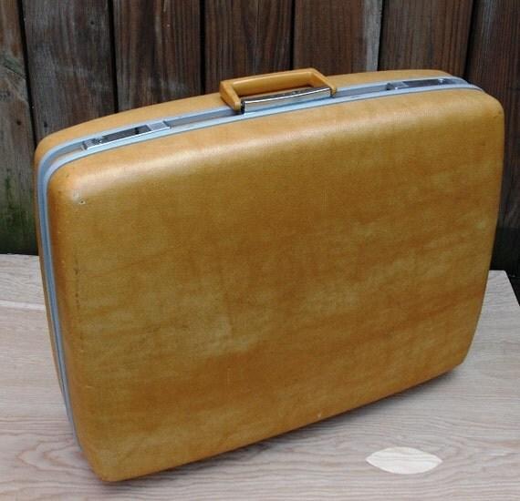 VINTAGE Suitcase Hardshell Samsonite Royal Traveller Medalist Denver Luggage