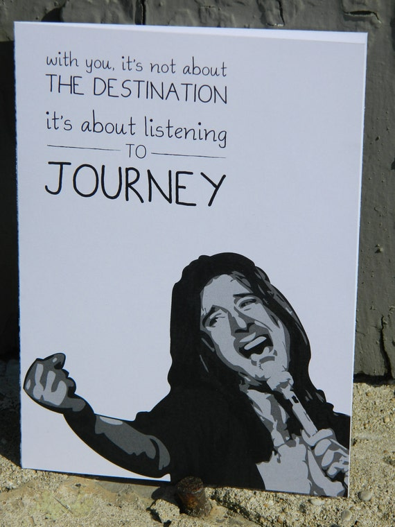 Journey Band Greeting Card