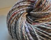 Vegan Handspun Yarn - Pale dreamy colours - 2 ply - soy