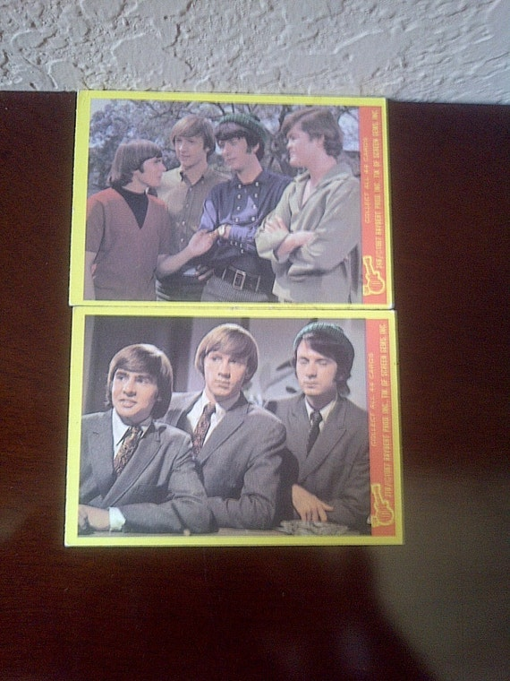 1967 THE MONKEES Trading Cards Series B