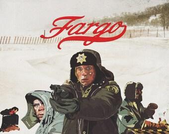 Fargo A3 Poster Print