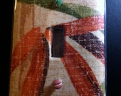 Zen Bamboo - Light Switch Plate (This One Sold) Design can be ordered